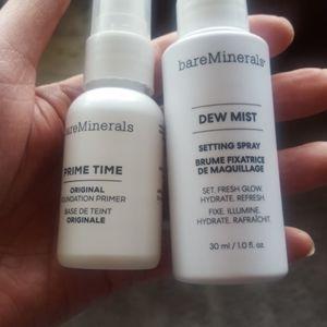bareMinerals original face primer & setting spray